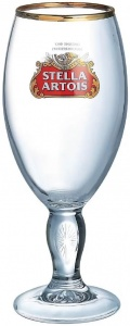 Stella Artois Pint Chalice Glass For Sale UK - CE 20oz / 570ml - Box of 24